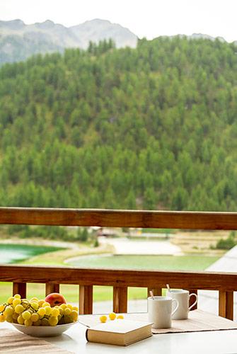 Hameau des Airelles Vue balcon