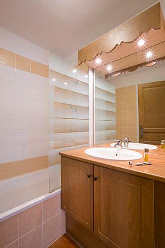 Montgenevre residence salle de bain