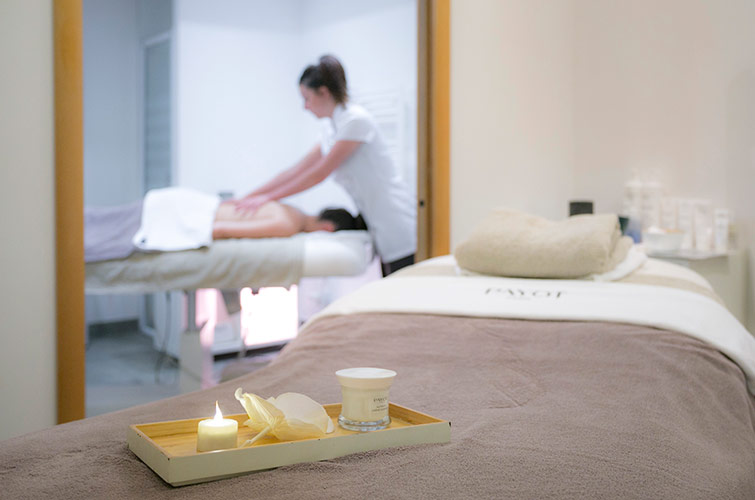 Montgenevre spa massage