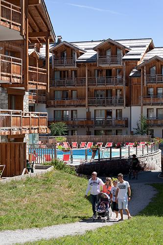 mmv Résidence Club**** Montgenèvre, le Hameau des Airelles, French High alps, residence