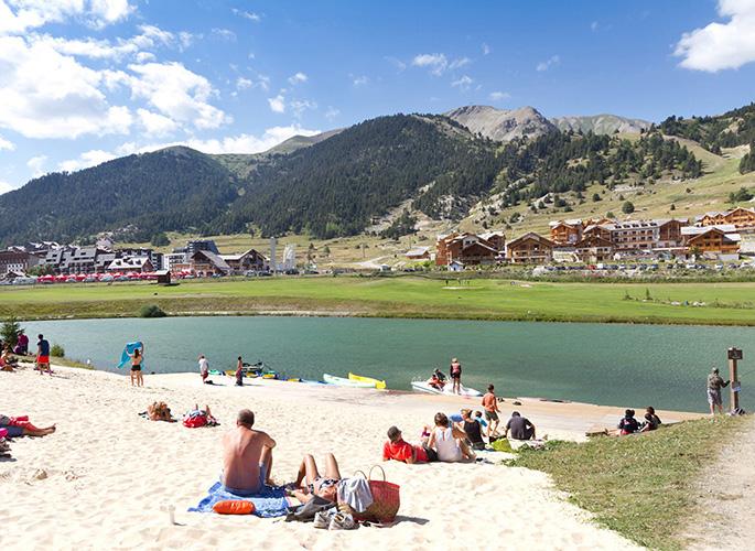 mmv Résidence Club**** Montgenèvre, le Hameau des Airelles, French High alps, passy beach