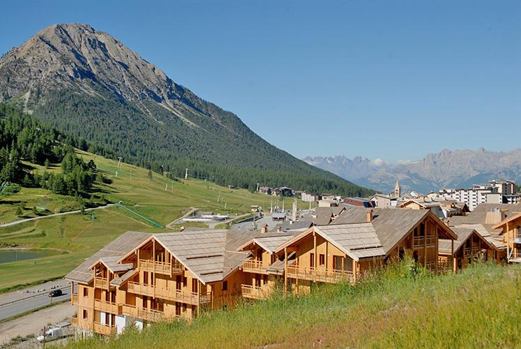 mmv Résidence Club**** Montgenèvre, le Hameau des Airelles, French High alps, resort