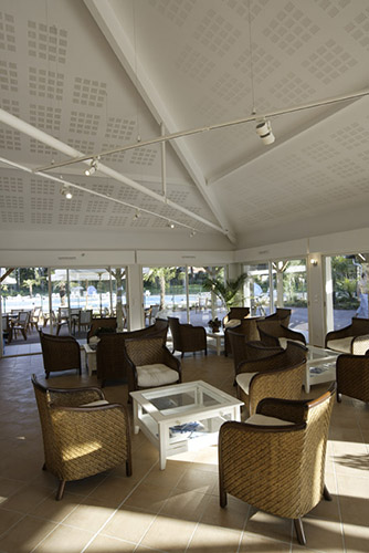 Terrasses des résidence club à Ondres-Bayonne