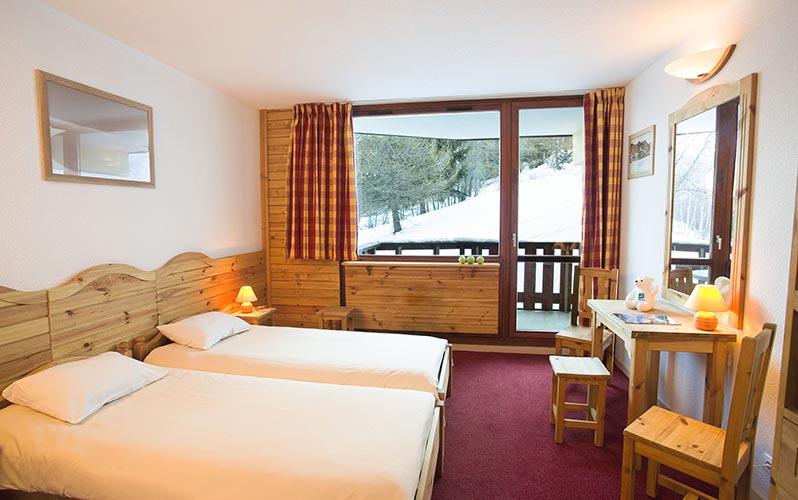 mmv hotel club Plagne Montalbert, les sittelles, Savoie, French Alps, duplex apartment