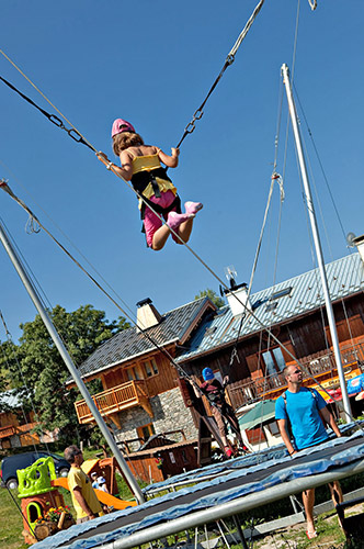 mmv hotel club Plagne Montalbert, les sittelles, Savoie, French Alps, resort children
