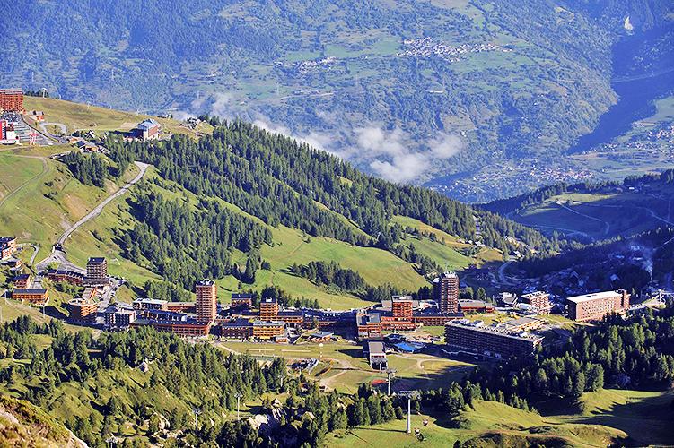 Le village de Plagne Montalbert