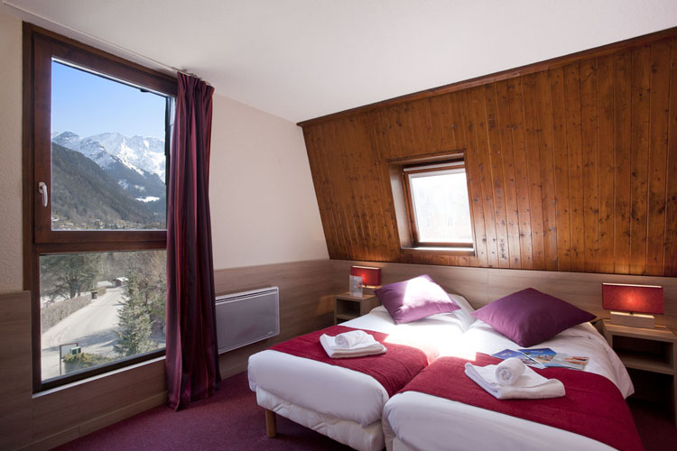 mmv Hotel Club Saint-Gervais Mont-Blanc, le monte bianco, Haute Savoie, rooms