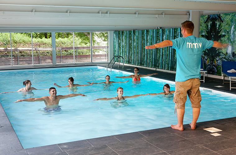 mmv Hotel Club Saint-Gervais Mont-Blanc, le monte bianco, Haute Savoie, pool