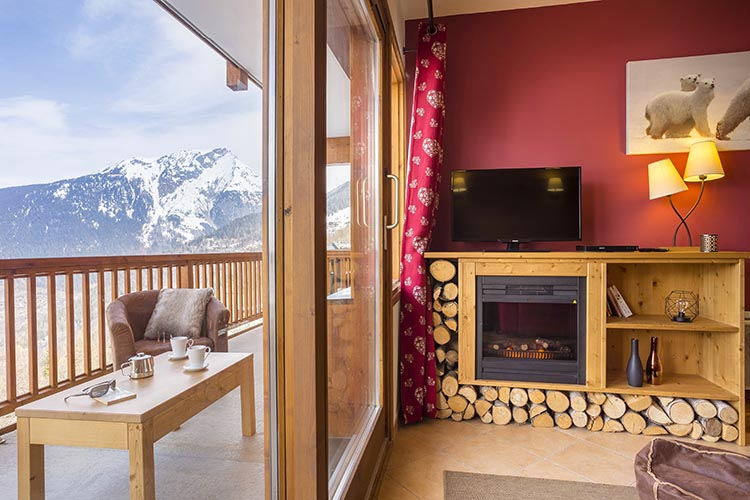 Location Sainte Foy balcon