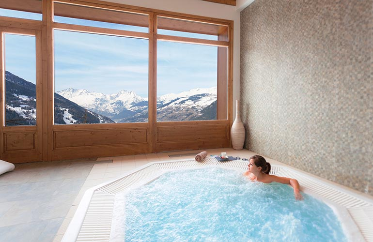 Location Sainte Foy jacuzzi