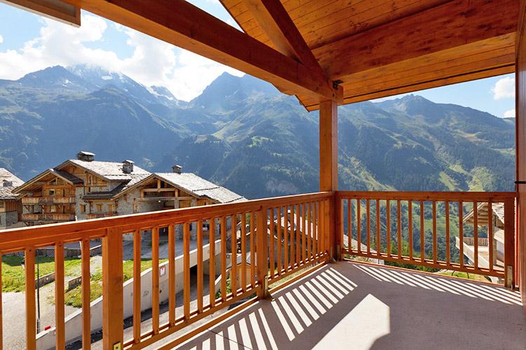 mmv Residence club**** Sainte-Foy Tarantaise, L'Etoile des Cimes, Savoie, balcony