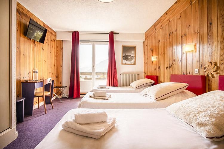 Hotel Serre chevalier chambre