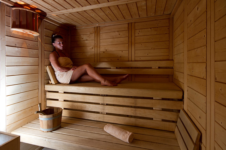 mmv hôtel club Serre Chevalier, l'alpazur, High-Alps, sauna