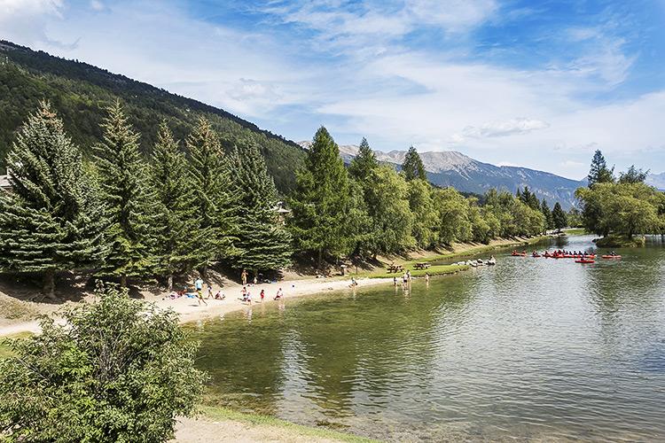 serre chevalier hotel proche lac
