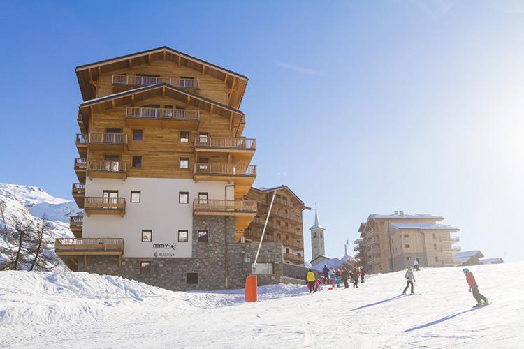 holidays flat to rent Tignes 1800 altaviva
