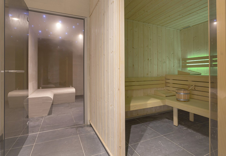 Sauna Hammam residence mmv Tignes 1800
