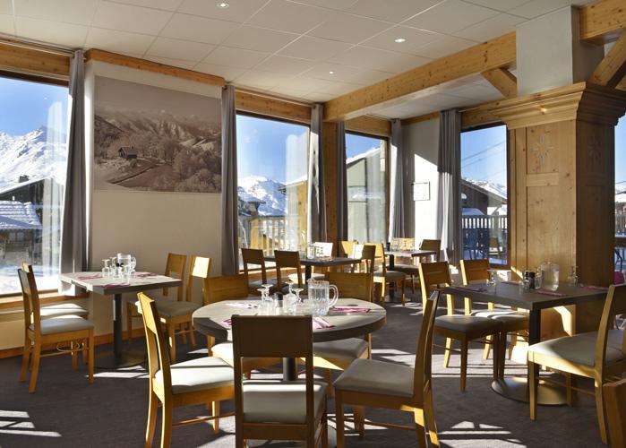 mmv Hotel Club Val Thorens, Les Arolles, Savoie, french Alps, restaurant