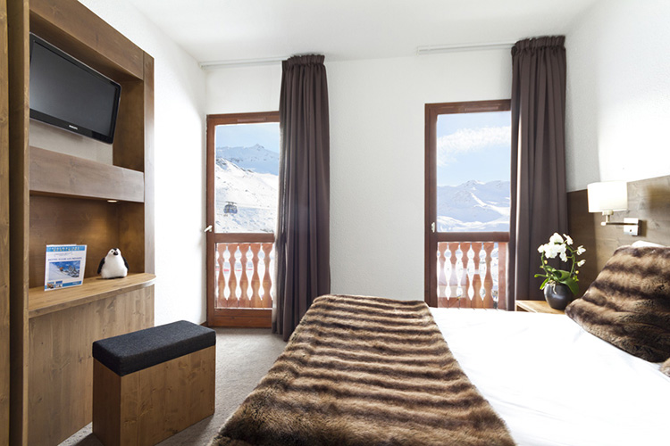 mmv Hotel Club Val Thorens, Les Neiges, Savoie, french Alps, rooms