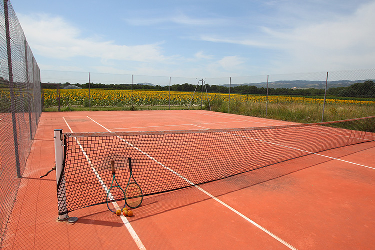 mmv Residence Club Valence, le domaine du lac, lac tennis