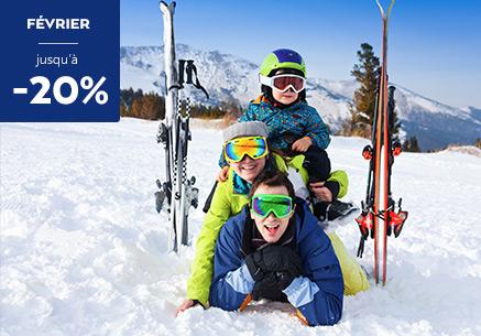 Promo ski en février