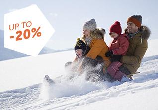 Ski holidays in January