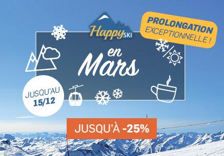 Mars au ski - Happyski