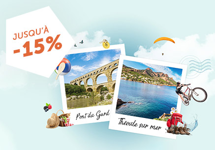 Théoule sur Mer / Pont du Gard