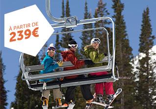 Week-ends Ski avec Forfaits Remontées Mécaniques
